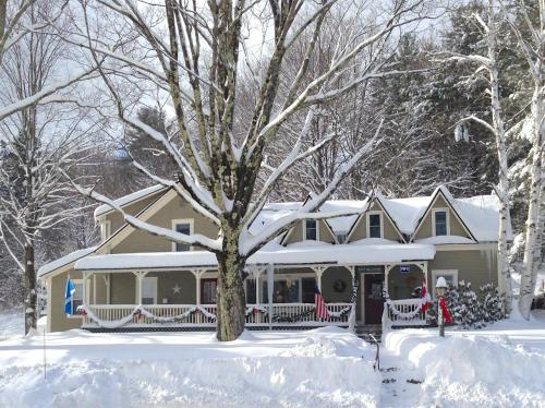 West Hill House B&B during the winter