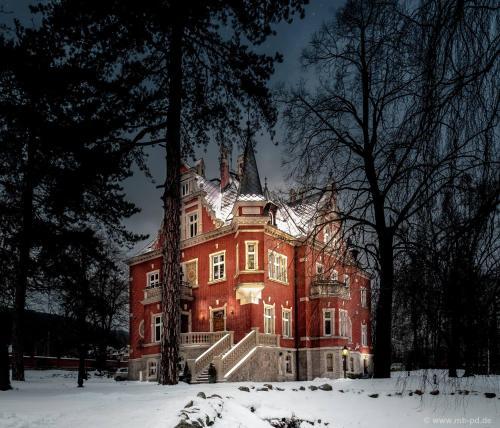 Obiekt Hotel Dębowy Biowellness & SPA zimą