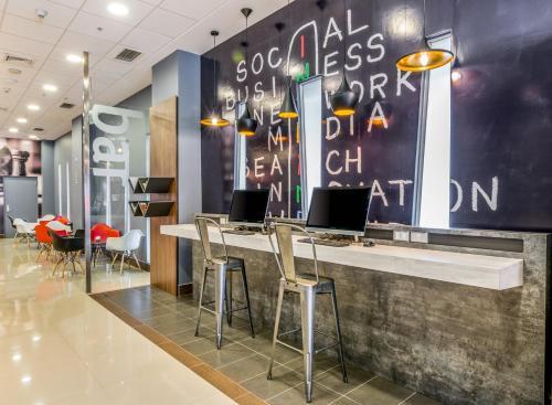 El vestíbulo o zona de recepción de ibis Puerto Montt