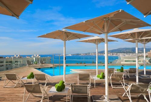 The swimming pool at or near Melia Palma Bay