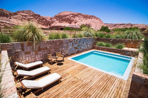 The swimming pool at or close to Nayara Alto Atacama