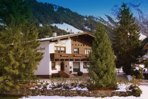 Haus Tyrol during the winter