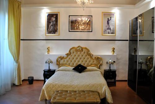 Cama o camas de una habitación en Sleep Florence Suite Servi