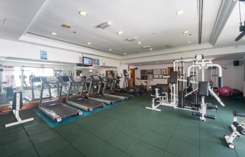 The fitness center and/or fitness facilities at Promenade Hotel Kota Kinabalu