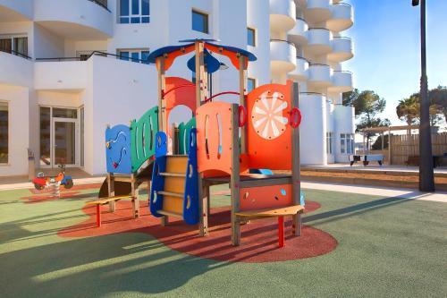 De kinderspeelruimte van Hipotels Hipocampo Playa