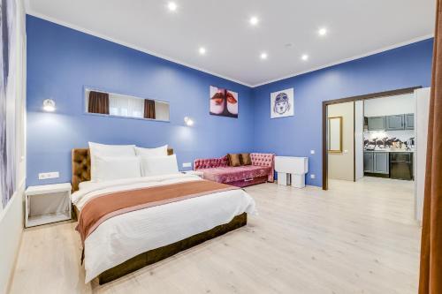 Кровать или кровати в номере Apartment Privilege Aristocrat