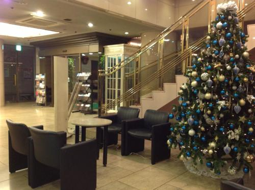 The lounge or bar area at Star Hotel Yokohama