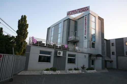 Zgrada u kojoj se nalazi pansion