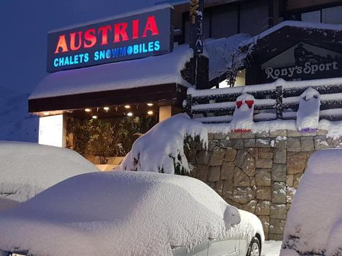 Austria Mzaar Chalets & Services خلال فصل الشتاء