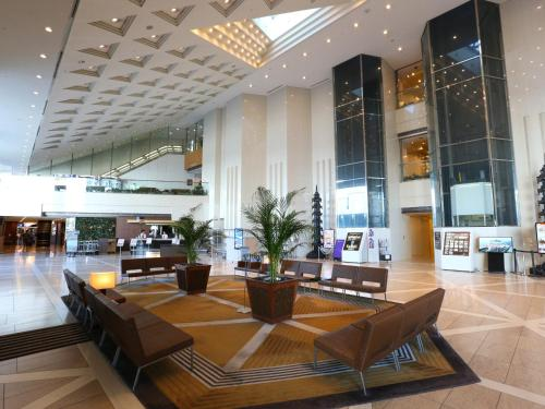 A restaurant or other place to eat at APA Hotel & Resort Tokyo Bay Makuhari
