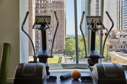 The fitness center and/or fitness facilities at Viceroy Chicago