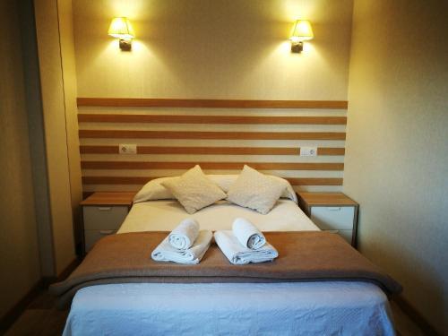 Cama o camas de una habitación en Casa Lili