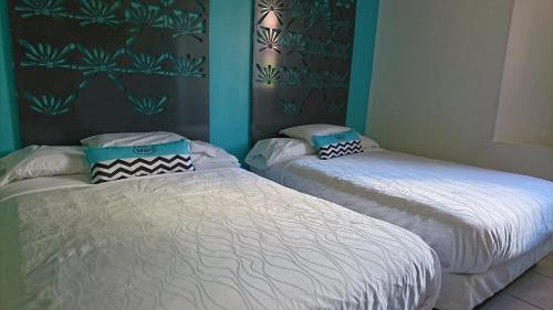 Cama o camas de una habitación en Miami Sun Hotel - Downtown/Port of Miami