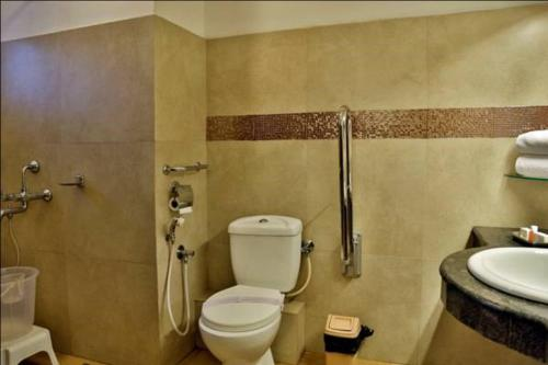 A bathroom at Hotel Aida