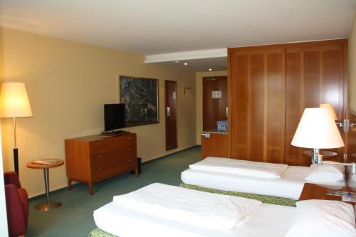 TV/Unterhaltungsangebot in der Unterkunft Hotel Residence Starnberger See