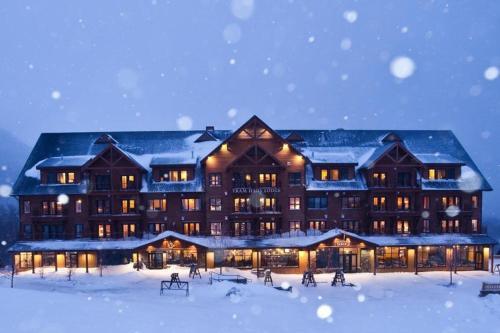Jay Peak Resort during the winter