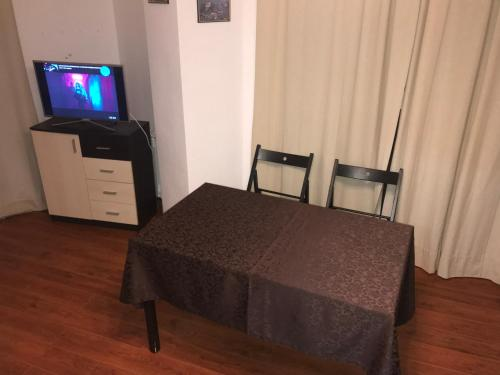Кровать или кровати в номере Апартаменты на Метелева
