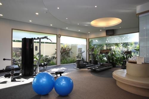 Das Fitnesscenter und/oder die Fitnesseinrichtungen in der Unterkunft Mercure Koh Chang Hideaway