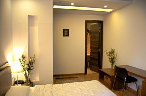 A bed or beds in a room at Orania B & B by Atsar