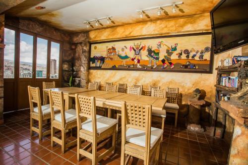 Ресторан / где поесть в Hotel Rosario La Paz
