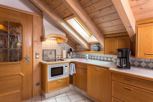 Küche/Küchenzeile in der Unterkunft Ferienhäuser Werdenfels