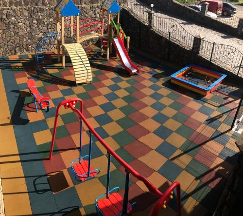 Children's play area at Lileya Hotel