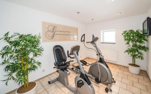 The fitness center and/or fitness facilities at Dorint Kongresshotel Chemnitz