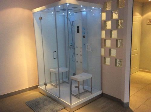 Een badkamer bij B&B Soestdijk