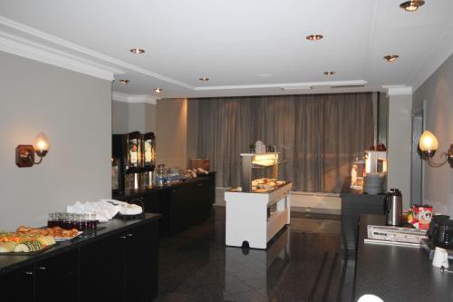 En restaurant eller et spisested på Thon Hotel Saga