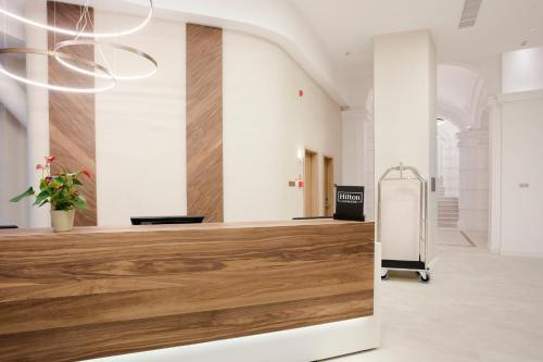 The lobby or reception area at Hilton Garden Inn Bucharest