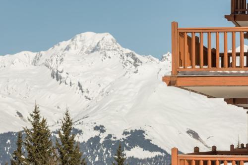 Résidence Pierre & Vacances Premium Les Alpages de Chantel during the winter