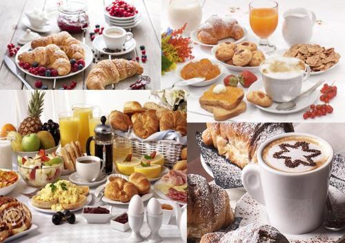 Opciones de desayuno disponibles en Cameo B&B