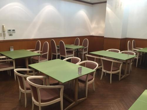 A restaurant or other place to eat at Spa & Sauna Hotel Hitachi Plaza