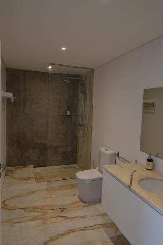 Salle de bains dans l'établissement Quinta de Santa Marinha