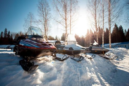Отель-клуб Гардарика зимой