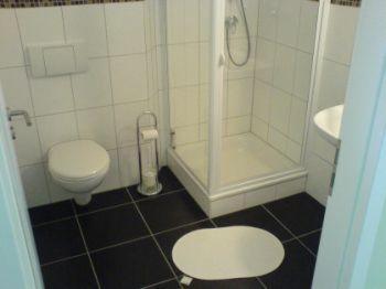 A bathroom at Eckotel H1