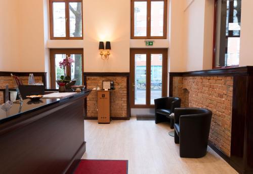 Lobby/Rezeption in der Unterkunft REWARI Hotel Berlin