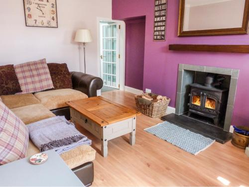 A seating area at 5 Distillery Cottages
