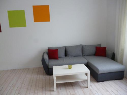 A seating area at Gästehaus Laßbruch