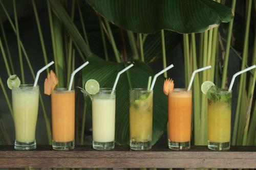 Drinks at The Evitel Resort Ubud