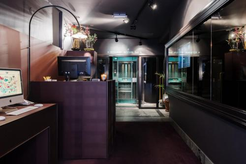 The lobby or reception area at Story Hotel Riddargatan, part of JdV by Hyatt