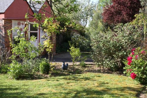 Jardin de l'établissement Maison St Mayeul