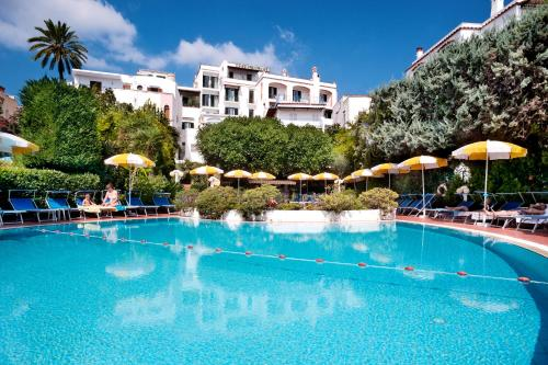 The swimming pool at or near Hotel Ulisse