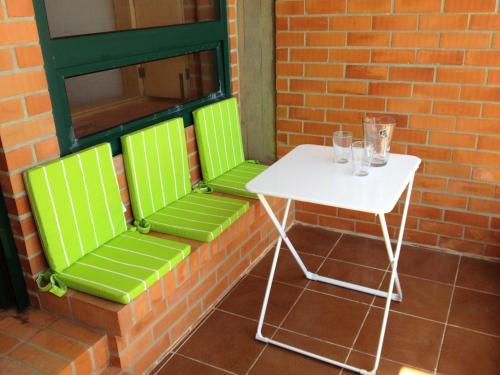 A seating area at Casa S. José