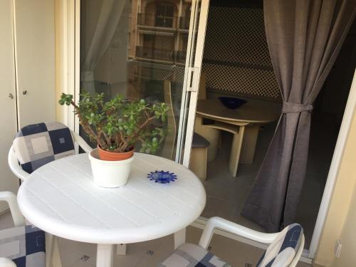 Un balcón o terraza de Studio Aparthotel PYR