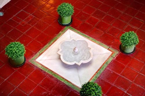 Salle de bains dans l'établissement Sacristia de Santa Ana