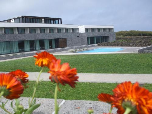 The swimming pool at or near INATEL Graciosa