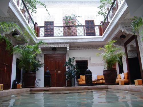 Lobby/Rezeption in der Unterkunft Riad Les Nuits de Marrakech