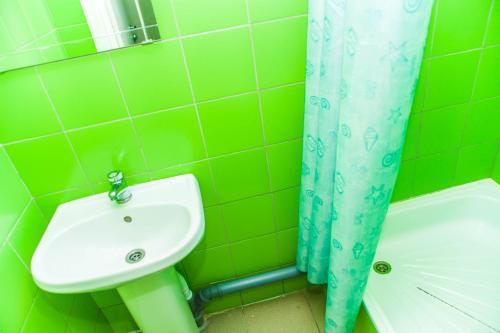 Ванная комната в Konkovo Hostel