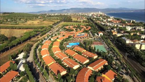 A bird's-eye view of Villaggio Mare Si